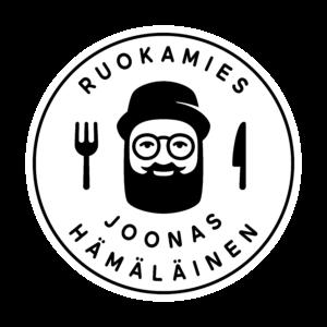 ruokamies-logo_kehys-tummapohja